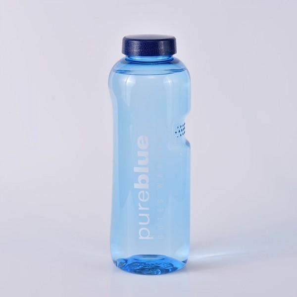 Wasserflasche 0,75 Liter rund
