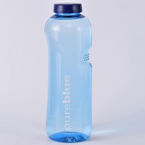 Wasserflasche 1 Liter rund